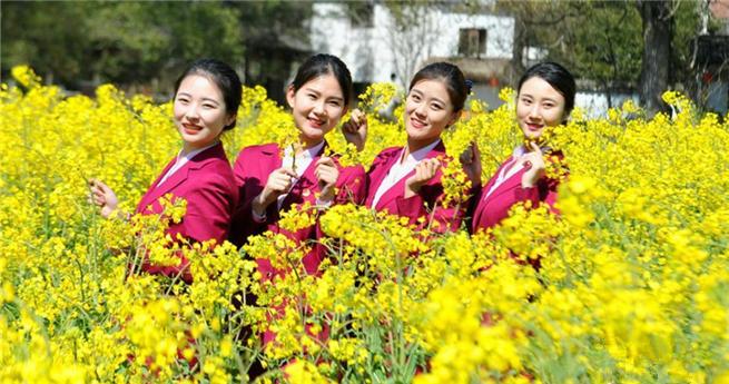 Blühende Rapsfelder: Das schönste Dorf Chinas lädt Besucher ein