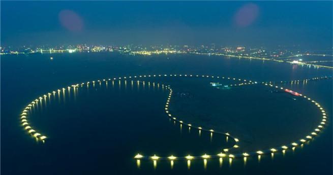 Öko-Insel beleuchtet Haikou