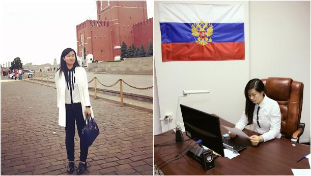 Der Weg einer Sprachmittlerin, mitten in St. Petersburg