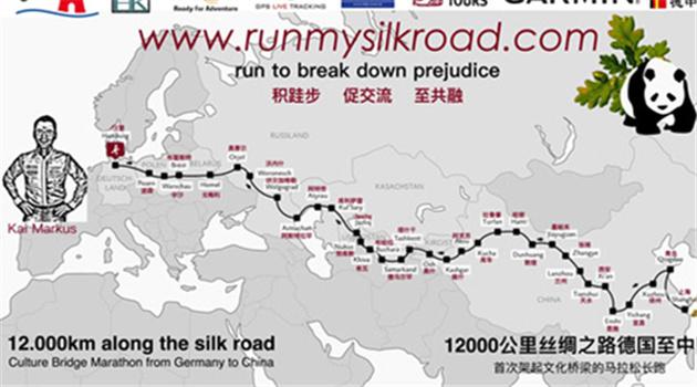Von Hamburg nach Shanghai: Deutscher Mann plant Extremlauf entlang der Seidenstraße
