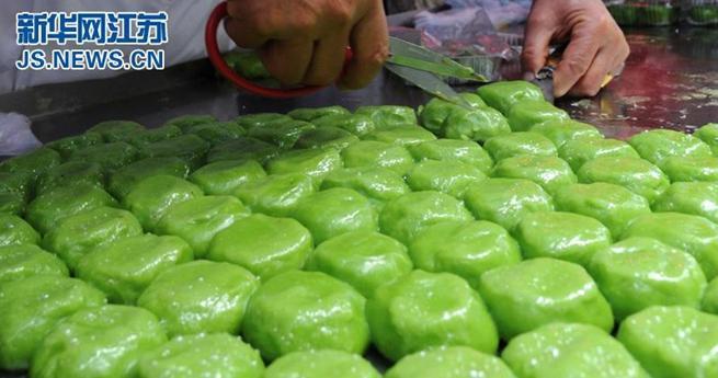 Qingtuan – Snack für das Qingming-Fest