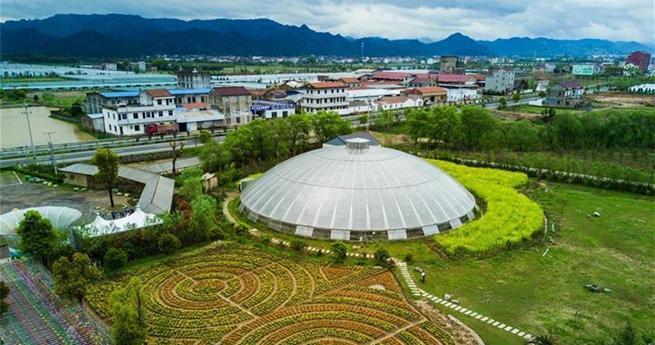 Zhejiangs Planetenfarm begrü?t die Blütezeit