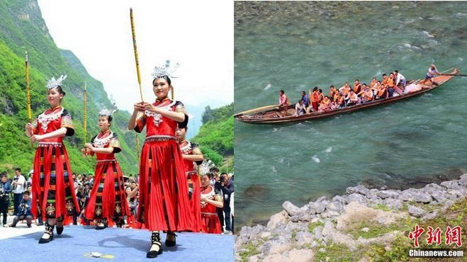 Treidler-Kulturfest in Badong