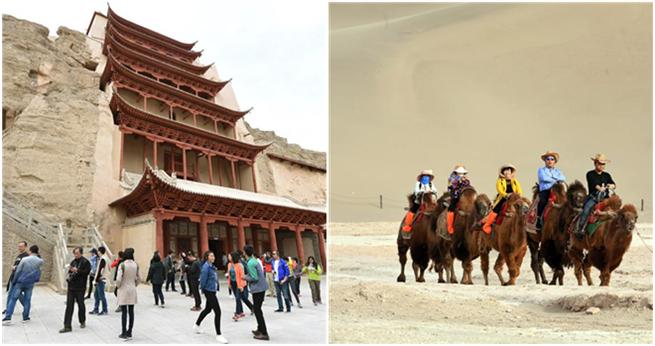 Dunhuang: Tourismus entwickelt sich rasch dank Seidenstraße-Initiative