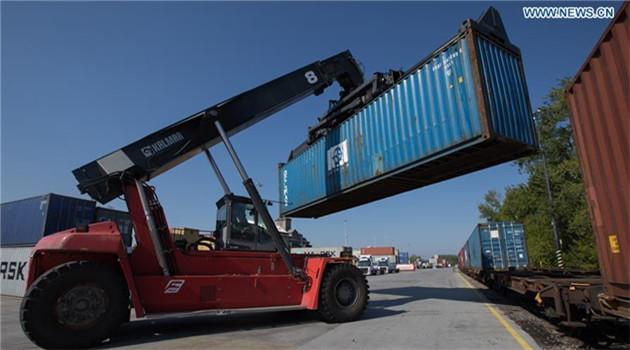 Erster Güterzug aus Xi'an erreicht Budapest