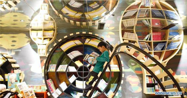 Innovativer Buchladen fasziniert Kinder