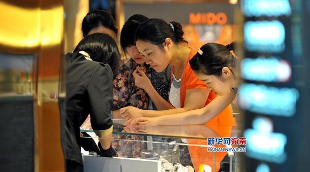 Duty-Free-Shops auf Hainan machen Milliardenumsatz