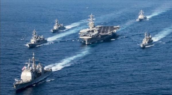 Japanische Zerstörer beginnen Militär-Drill mit US-Flugzeugträger