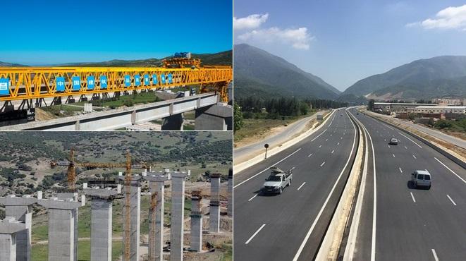 Autobahn,China, Algerien,Nord-Süd-Autobahn