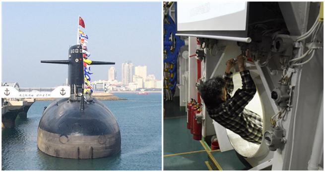 Einblick in Chinas erstes Atom-U-Boot
