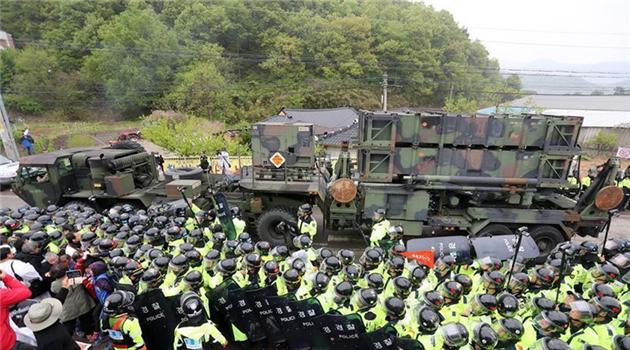 Stationierungvon THAAD löst Proteste in Südkorea aus