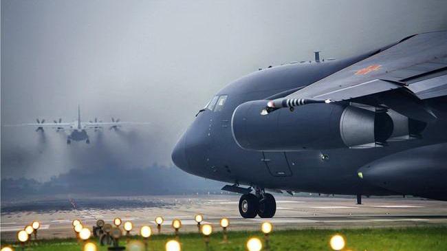 Militärtransporter, Y20,Übung, China