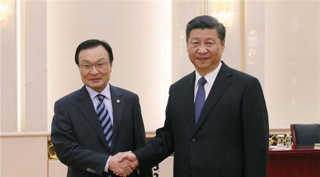 Xi will Beziehungen zu Südkorea wieder auf rechten Weg bringen
