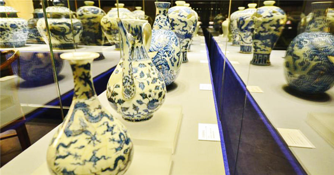 Die Schönheit von Blau und Weiß: Porzellan in Shandong in Ausstellung