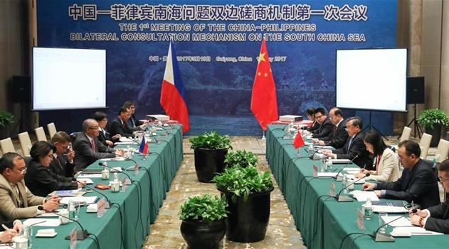 China und Philippinen schaffen halbj?hrlichen Konsultativmechanismus