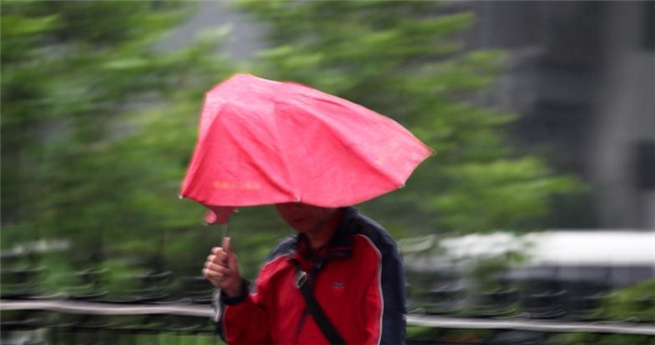 Regenschauer bringen Beijing die ersehnte Abkühlung