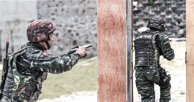 0,6 Sekunden! Elitesoldaten machen gute Figur beim Schießen