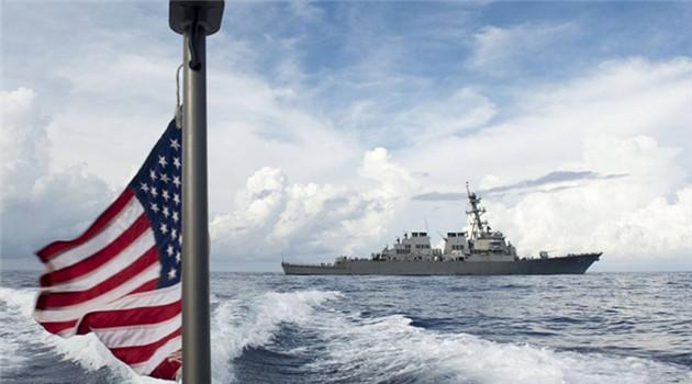 China verurteilt USA für Entsendung von Kriegsschiff
