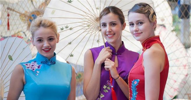 Hangzhou feiert Qipao-Tag
