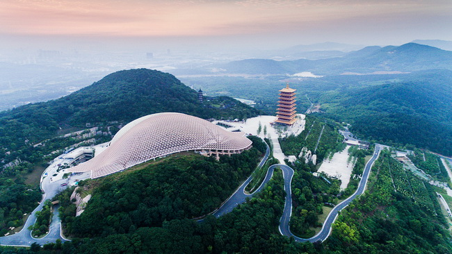 Neues Wahrzeichen in Nanjing: Ruinenpark auf dem Niushou-Berg