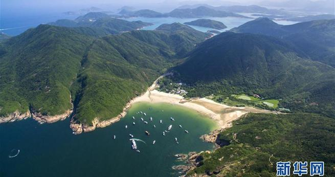 Hongkong: Die 'Perle des Ostens' aus der Vogelperspektive