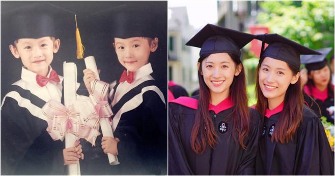 Chinesische Zwillinge erlangen nach Harvard-Abschluss Internetruhm