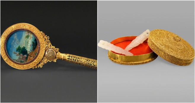 Makeup-Artefakte aus der Qing-Dynastie
