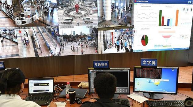 Beijing verst?rkt Videoüberwachung an Bahnh?fen