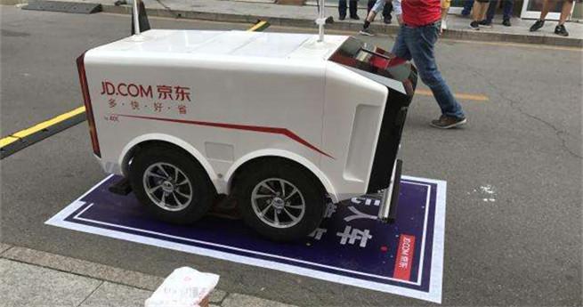Erste Roboter-Kurierdienste auf der Straße