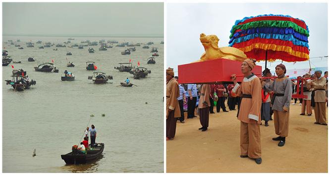 Poyang-See: Fischer feiern Ende des Fangverbots