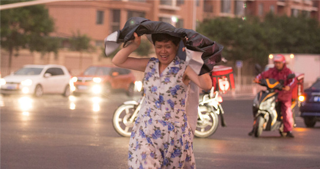 Beijing erwartet starke Regenfälle