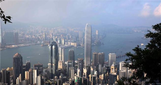 Hongkong Heimat von 1.300 Wolkenkratzern