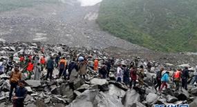 Mehr als 100 Vermisste bei Erdrutsch in Sichuan
