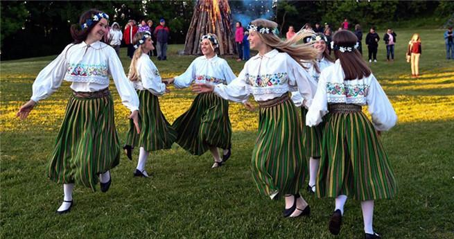 Estland feiert Mittsommertag