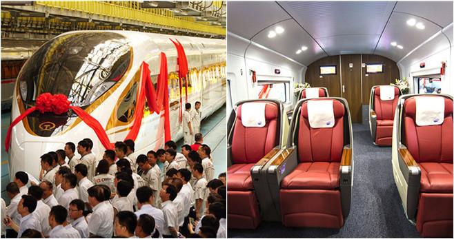 Neue Züge entlasten die Strecke Beijing – Shanghai