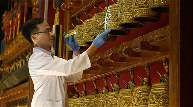 Palastmuseum zeigt Artefakte in Hongkong