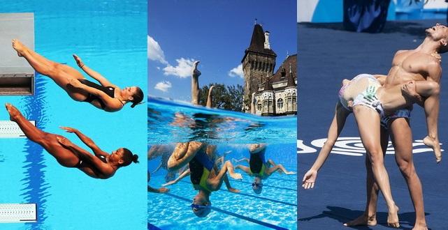 Schnappschüsse von der Schwimm-WM 2017 in Budapest