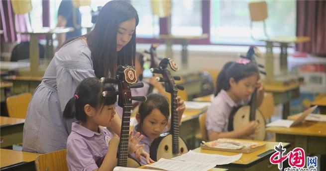 Schöne Melodie der chinesischen Volksmusik