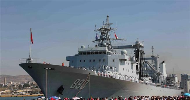 Chinesische Flotte besucht Griechenland