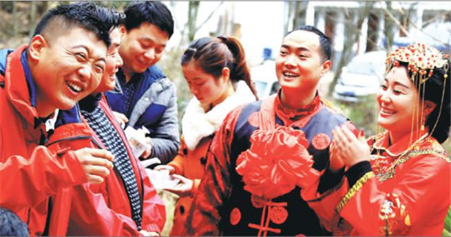 Frauen in Gansu haben gegenüber ihren Männern das letzte Wort