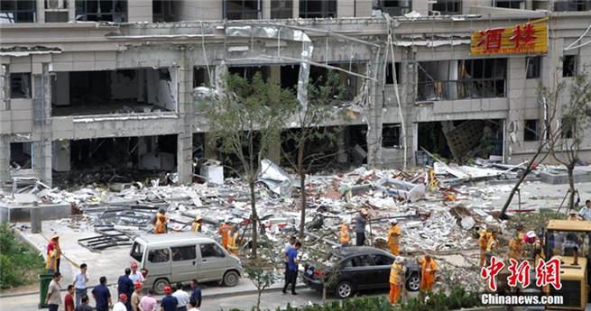 Acht Menschen bei Explosion in Ostchina verletzt