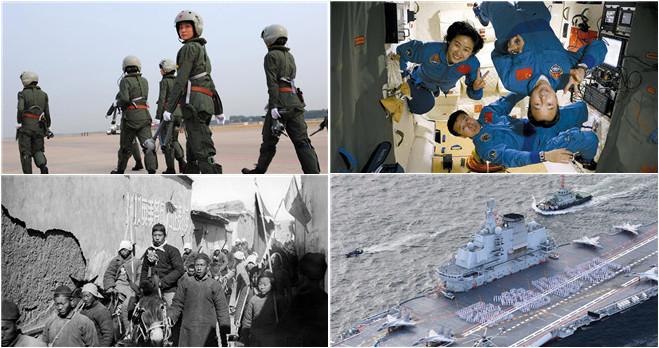 90-jähriges Bestehen der chinesischen Armee
