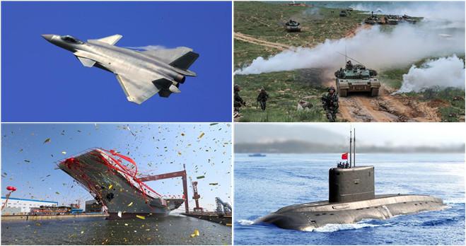 China auf dem Weg zur Militärmacht