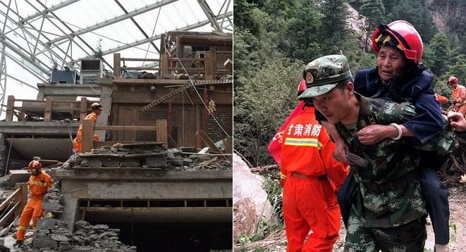 24 Stunden nach dem Beben: 60.000 Personen evakuiert