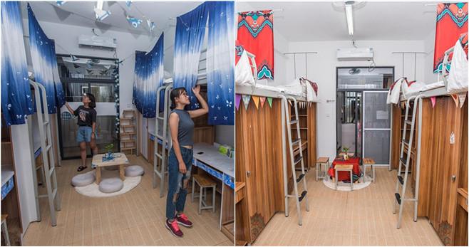 Geteilte Schlafzimmer werden zum Sommerhit für Besucher in Chengdu