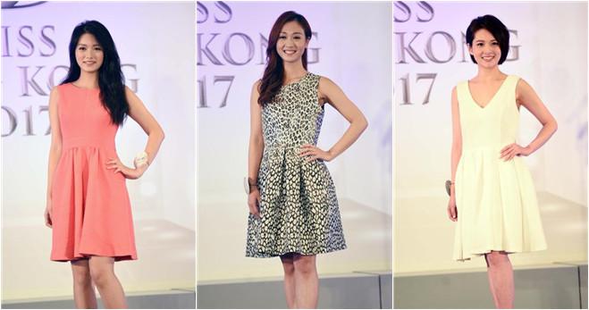 """Diese zehn Schönheiten wetteifern um """"Miss Hongkong""""-Titel"""