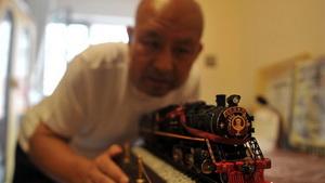 Persönliche Sammlung von Zuggegenständen zeigt Chinas Eisenbahngeschichte