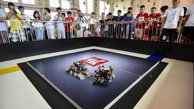 Chinesischer Roboterwettbewerb 2017 in Shandong eröffnet