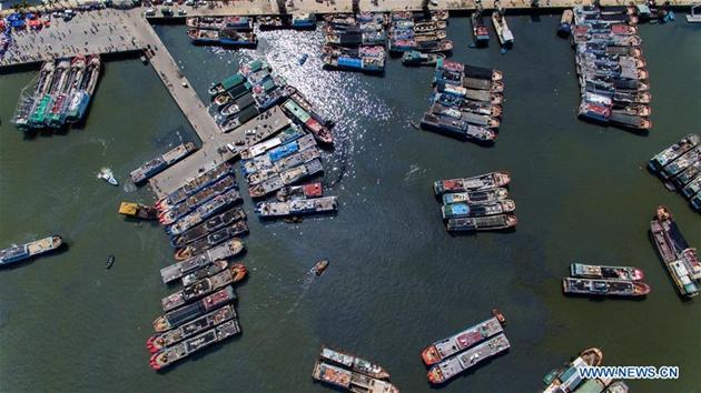 Fangzeit im Südchinesischen Meer beginnt