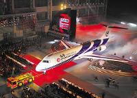 中国商用飛機有限責任公司のARJ21-700ジェット型旅客機